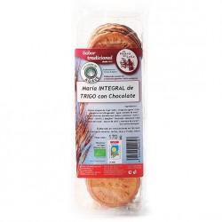 Maria Int.de trigo con sirope de agave-choco