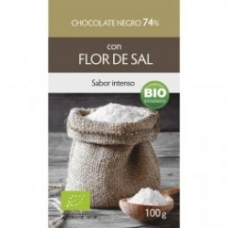 Chocolate Flor de Sal 74% 100g