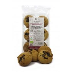 Cookies de espelta con frutos rojos
