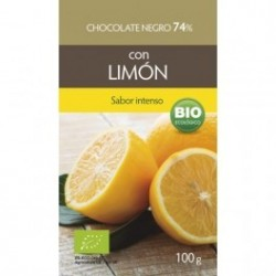 Chocolate Negro Limón 74% 100g