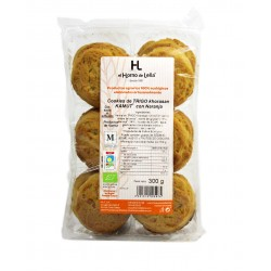 Cookies de kamut con naranja