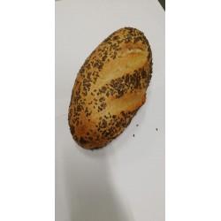 Pan integral con semillas de lino