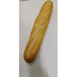 Barra de pan blanca