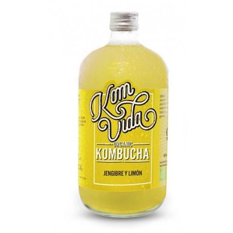 Kombucha jengibre limón 750 ml